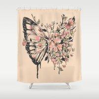 Metamorphora Shower Curtain