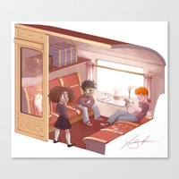 Hogwarts Express Canvas Print
