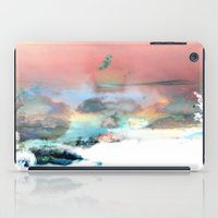 Clouds like Splattered Watercolor iPad Case