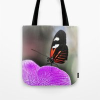 Butterfly Garden 3 Tote Bag