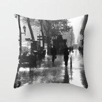Many Thanks To The Rain Throw Pillow