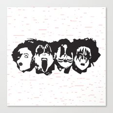 Kiss Loves You #2 Canvas Print