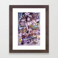THE ELEGANT SHOW Framed Art Print