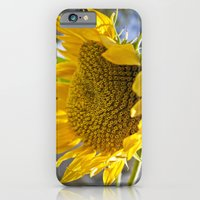 iPhone & iPod Case featuring Take Cover [SUNFLOWER] by David Nuh Omar