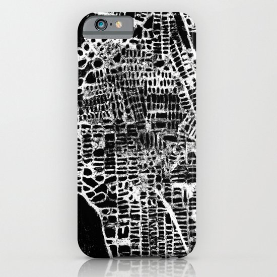 NEW YORK CITY MAP iPhone & iPod Case