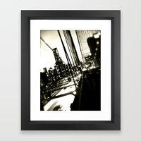 WHITEOUT : Jumper Framed Art Print