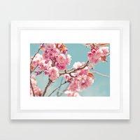 Cherry cherry Framed Art Print