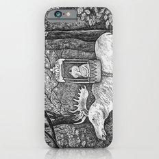 Fox riding moose Slim Case iPhone 6s
