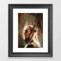 King Thranduil Framed Art Print