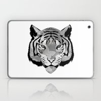Tiger B&W Laptop & iPad Skin