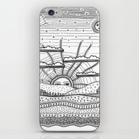 Voyage incertain (uncertain travel) iPhone & iPod Skin