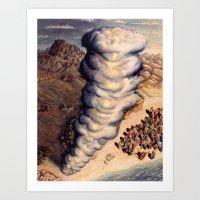 Pillar Of Cloud Art Print