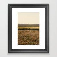 Varied Prairie Framed Art Print
