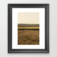 Varied Prairie Framed Art Print