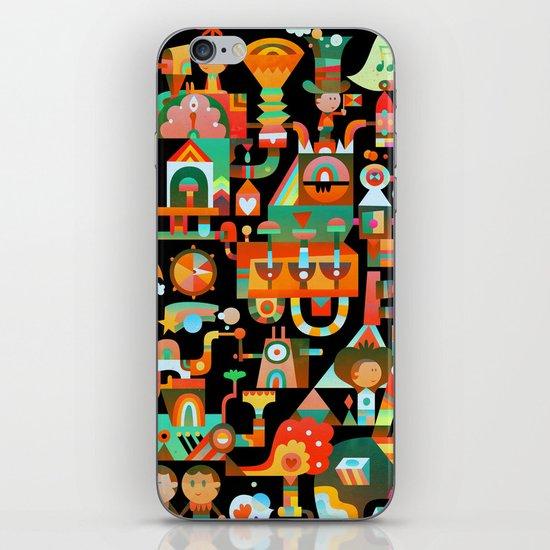 The Chipper Widget (Remix) iPhone & iPod Skin