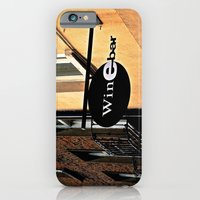iPhone & iPod Case featuring The Wine Bar by Biff Rendar