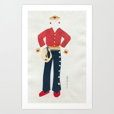 Outfit for Wonder Woman, 2 Art Print