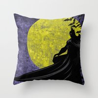 Guardian of the Knight  Throw Pillow
