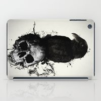 Raven and Skull iPad Case