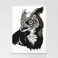 Eastern Screech Owl Stationery Cards
