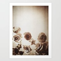 Falling Flower Variation… Art Print