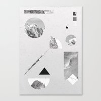 Monochromatic Canvas Print