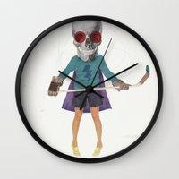Superhero #9 Wall Clock