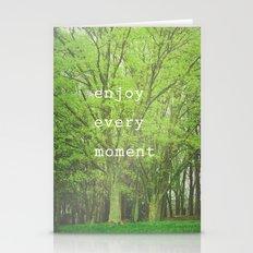 Enjoy Every Moment Stationery Cards