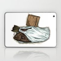 Flatfish And Mushrooms. Laptop & iPad Skin