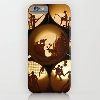 iPhone & iPod Case featuring Rolls 1 (Rouleaux 1) by Anastassia Elias