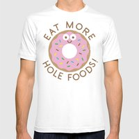 Do's And Donuts Mens Fitted Tee White SMALL
