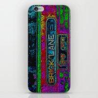 Brick Lane, Black Velvet iPhone & iPod Skin