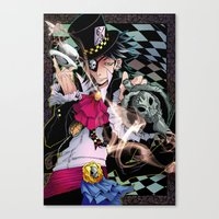 Alice In Boyland- Hatter Canvas Print
