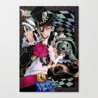 Alice in Boyland- Hatter Canvas Print
