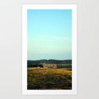 hill top Art Print