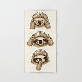 Hand & Bath Towel - No Evil Sloth - Huebucket