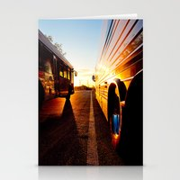 Two at Dusk Stationery Cards