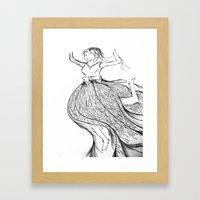 Dancer (2) Framed Art Print