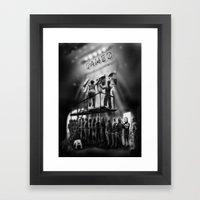Cameo Queue Framed Art Print