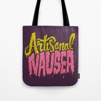Artisanal Nausea Tote Bag