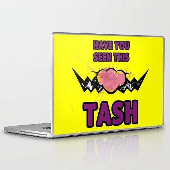 wario Wanted Tash Laptop & iPad Skin