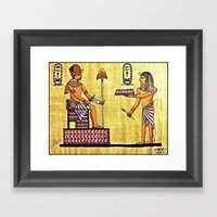 The Gift For The All See… Framed Art Print