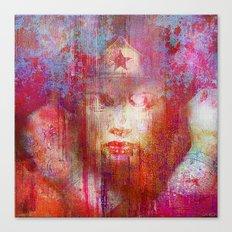 wonder abstract woman Canvas Print