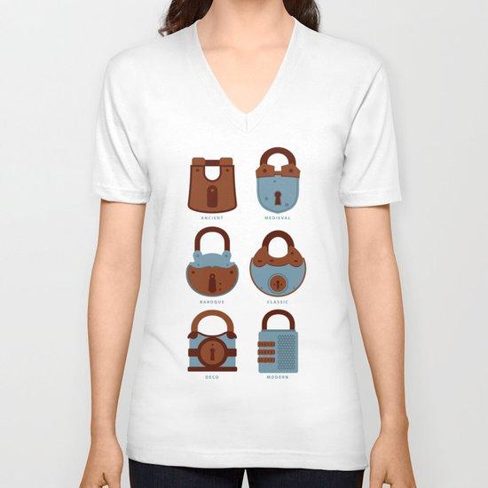 Evolution of Secrets V-neck T-shirt