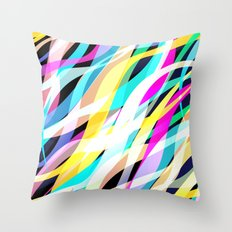 Surge of Colour Throw Pillow