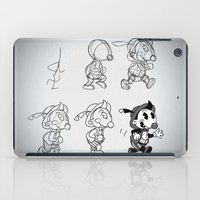 Cartoon Character Step by Step iPad Case