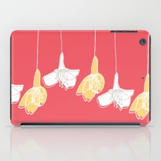 Cherry Blossom: Red iPad Case