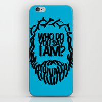Who do you say I am? iPhone & iPod Skin