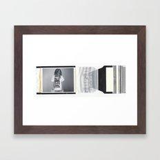 gangsta fo lyfe Framed Art Print