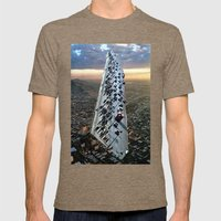 Mile 604 Mens Fitted Tee Tri-Coffee SMALL